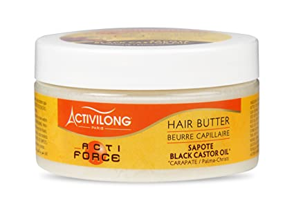 Activilong Actiforce mantequilla capilar, ricino, aceite de ...