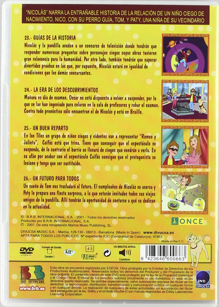 Amazon.com: Nicolas Vol.6: Movies & TV