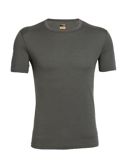 f279ffa90e2 Amazon.com : Icebreaker Merino Men's Oasis Short Sleeve Crewe : Sports Fan  T Shirts : Clothing