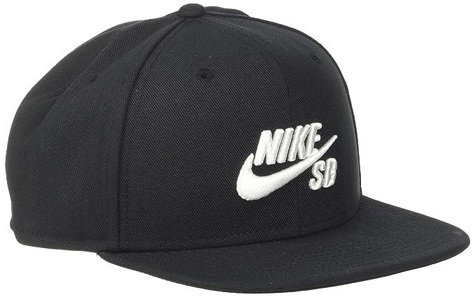 on sale e2518 cdf94 Amazon.com  Nike Mens SB Icon Pro Snapback Hat Black White  Clothing