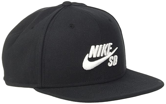 b364d67df1bf NIKE Schirmmütze SB Icon Pro Hat, Black White, One Size  Amazon.de  Sport    Freizeit