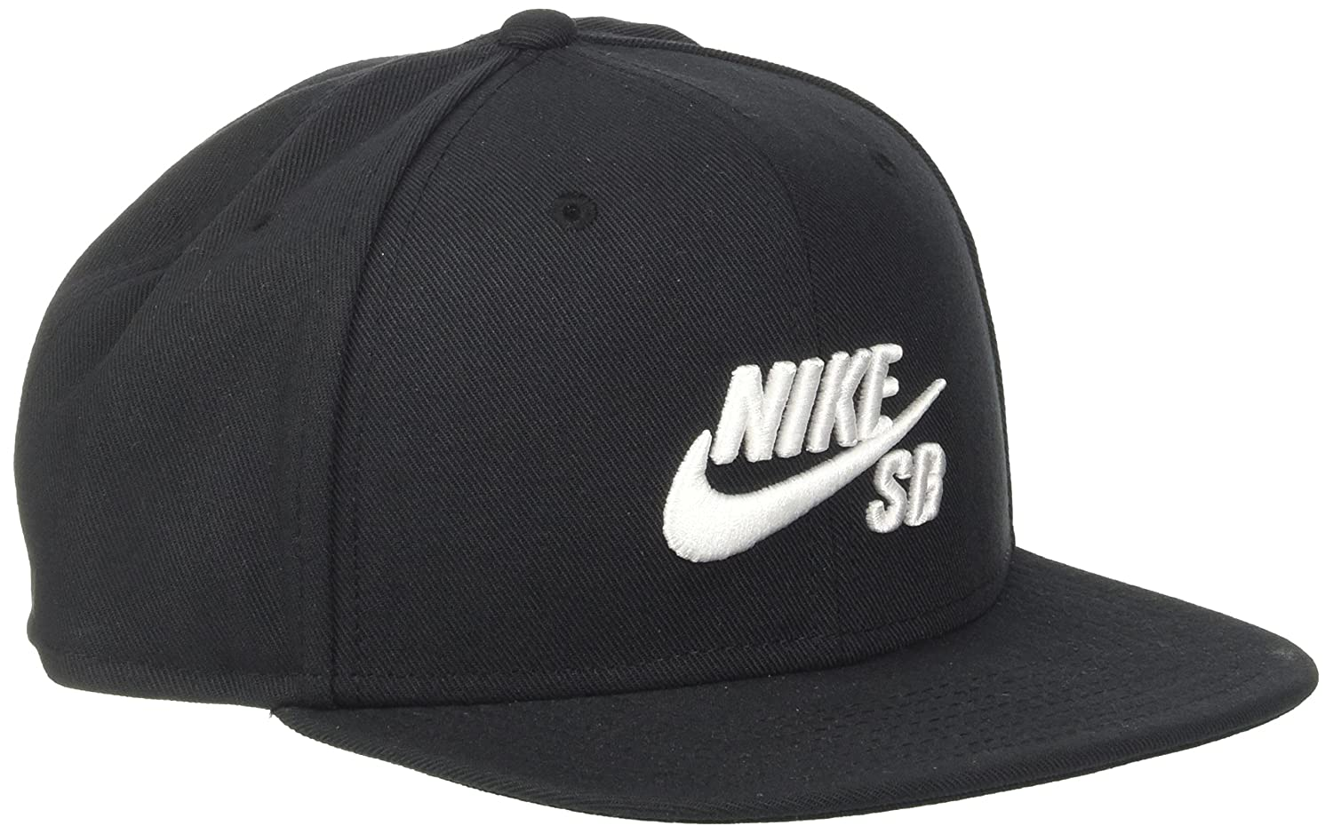 70d73342411 Amazon.com  Nike Mens SB Icon Pro Snapback Hat Black White  Sports ...