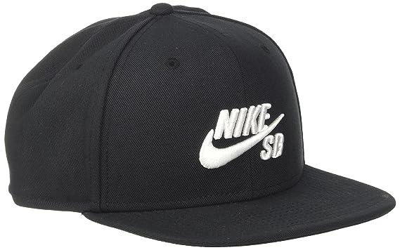 on sale f954b 44227 Amazon.com  Nike Mens SB Icon Pro Snapback Hat Black White  Clothing