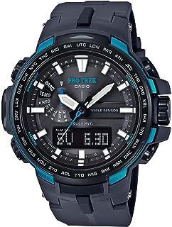 88d13169ed7 Amazon.com  Casio Men s Pro Trek PRW-6000Y-1ACR Solar Powered Black ...