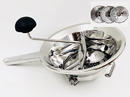 What Is Stainless Steel Made Of >> Salt Mill Vegetables Made Stainless Steel Made In Italy 24 Cm In Diameter