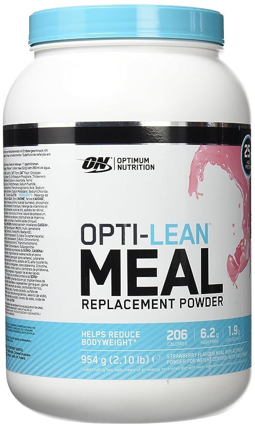 Optimum Nutrition Opti Lean Meal Replacement Strawberry, Sustitutivo de Comida - 954 g