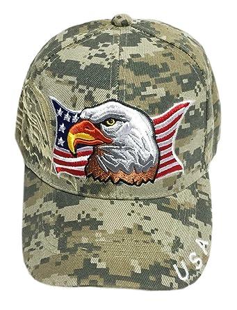 patriotic eagle flag baseball cap embroidered army digital caps wholesale mlb hats