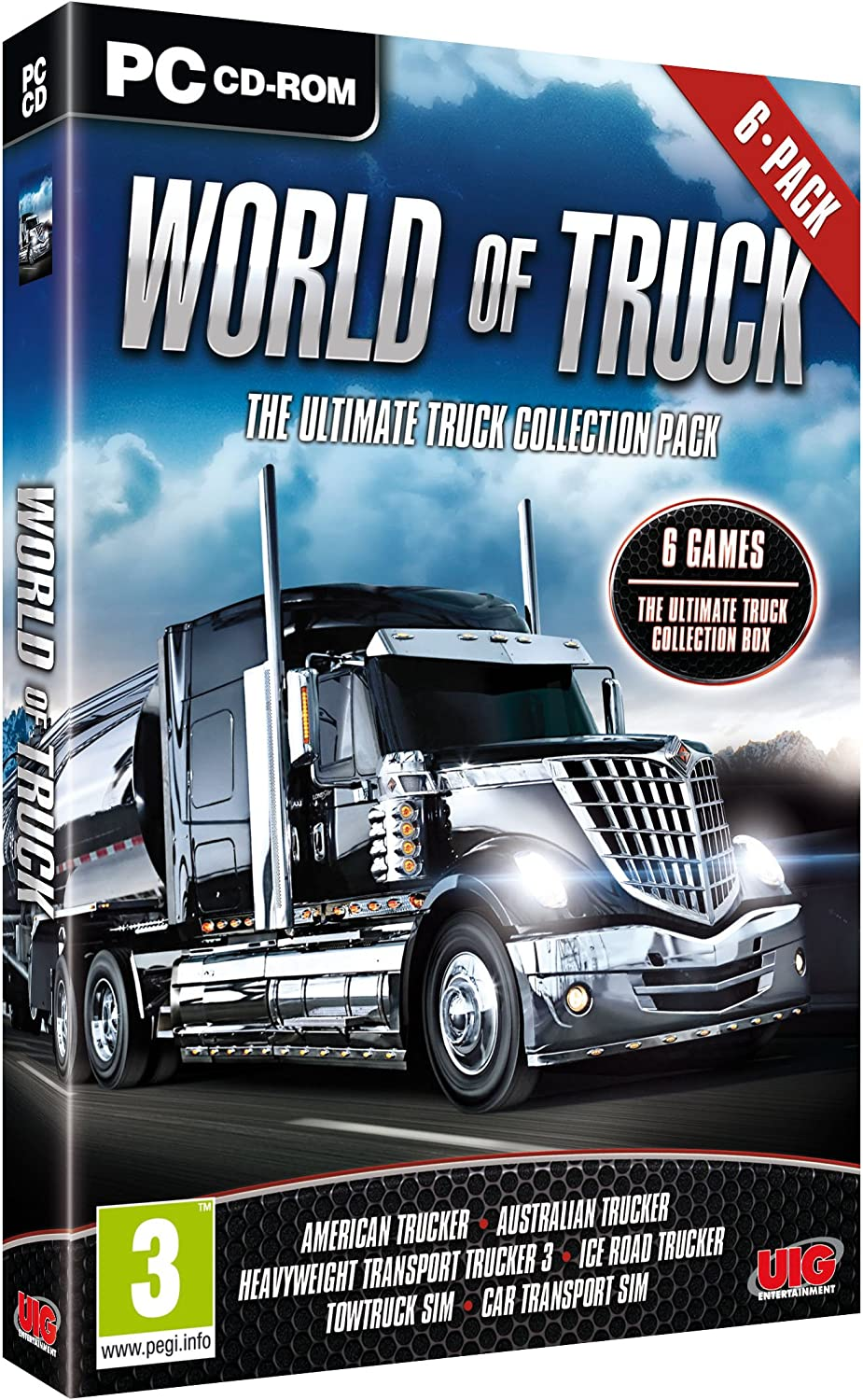 World of Truck - The Ultimate Truck Collection 6 Pack (PC CD ...
