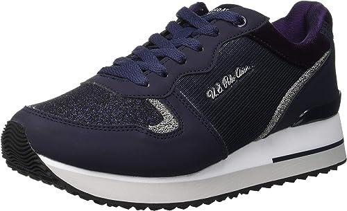U.S.POLO ASSN. TUZLA, Zapatillas para Mujer, Azul (Dark Blue ...