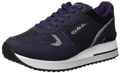 U.S.POLO ASSN. TUZLA, Zapatillas para Mujer, Azul (Dark Blue DKBL ...