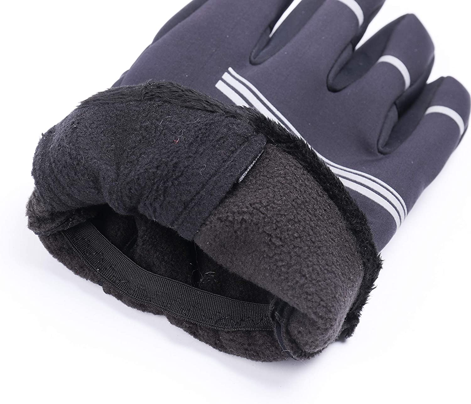 Outdoor Working Touch Screen Cycling Gloves Windproof /& Waterproof Great for Cycling GOOUTS Winter Gloves