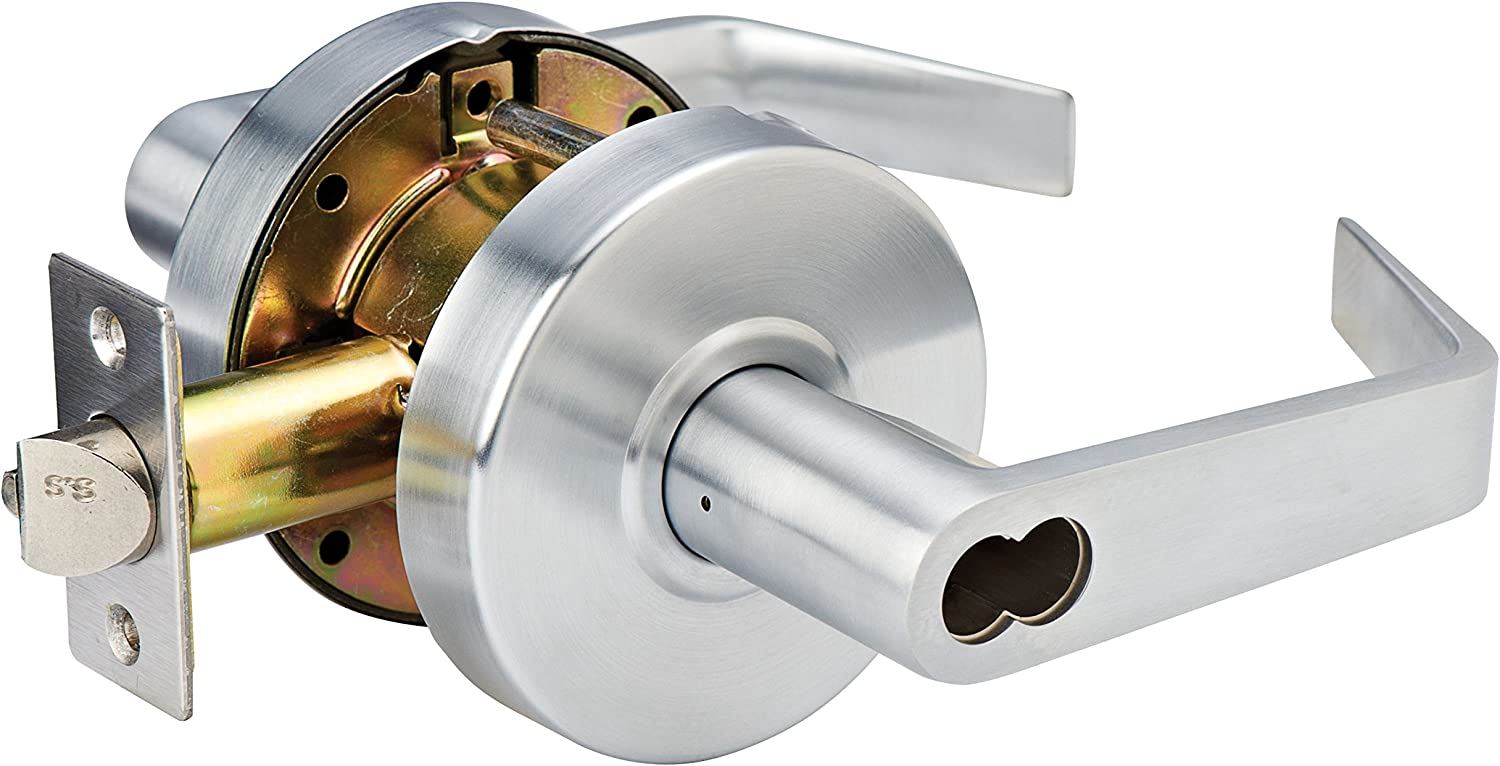 Master Lock SLCICKE26D Heavy Duty Lever Style Grade 2 Commercial SFIC Keyed Entry Door Lock