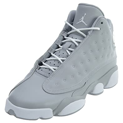 b56d442b92d655 439358-018 Grade School AIR Retro 13 GG Jordan Wolf Grey White Deadly Pink