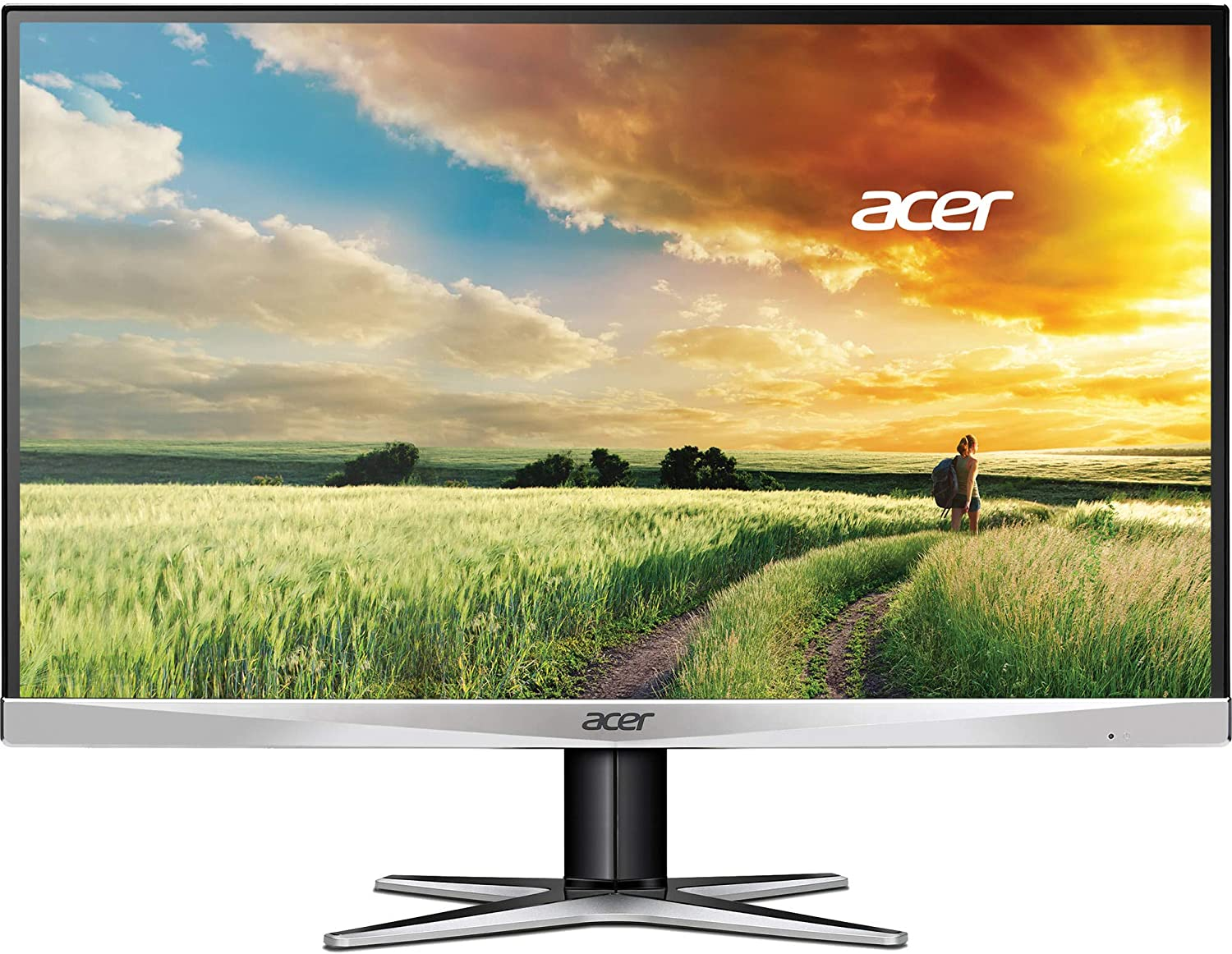 Acer G7 -G257HU smidpx - 25in Monitor (2560 x 1440) 4ms - 350 Nit (Renewed)