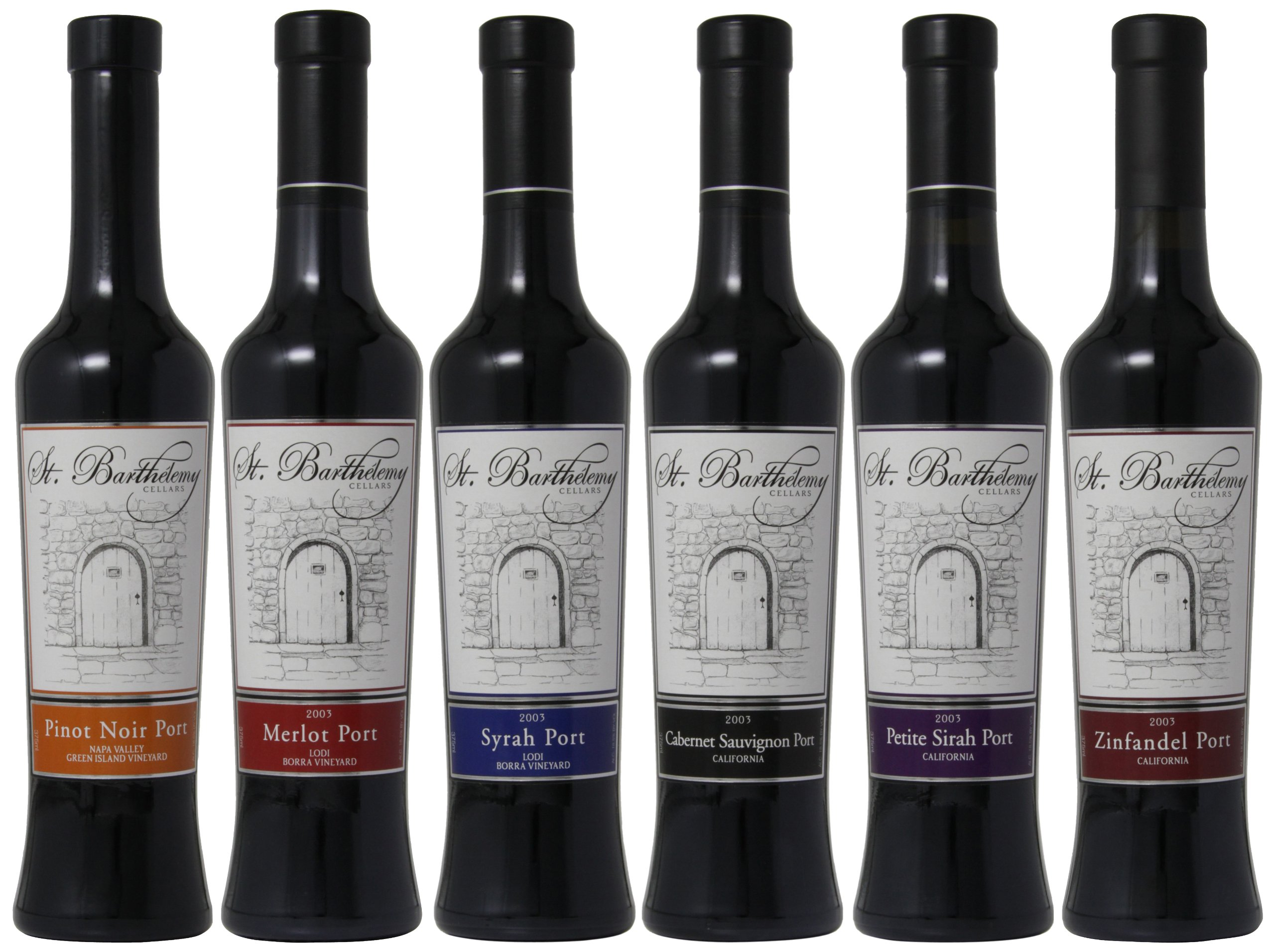 St. Barthelemy Cellars Wine Cellar Favorites Mixed Pack, 6 x 375 mL by St. Barthelemy Cellars