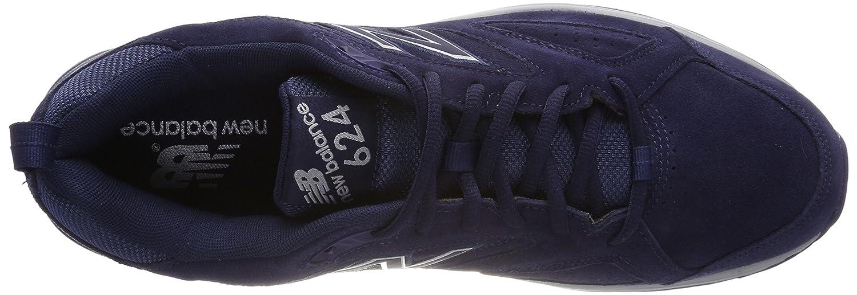 b374bd4e461a2 44 EU New Balance Mens 624 Fitness Shoes Blue MX624NV4 9.5 Pigment Nv4