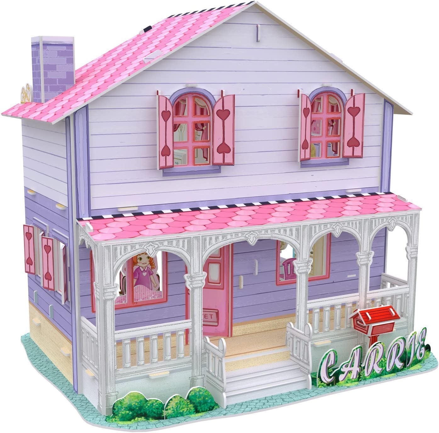 Cubic Fun 3D Puzzle Saras Home Puppenhaus