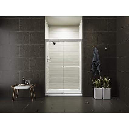 Kohler K 702208 L Shp Fluence Frameless Bypass Shower Door Bright