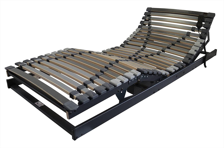 Extra Stabil: Betten-ABC Max1 XXL Lattenrost, verschiedene Ausführungen, belastbar bis zu 280 kg - Grösse XXXL Motor (bis 280 kg) - Härtegrad 90 x 200 cm
