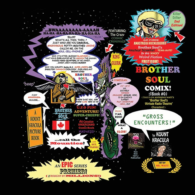 Brother Soul Comix #Zero!: A Kount Kracula Picture Book : Gross Encounters!: Amazon.es: Kracula, Kount, Watt, Tony, Watt, Anthony, Watt, Mr., Watt, Anthony: Libros en idiomas extranjeros