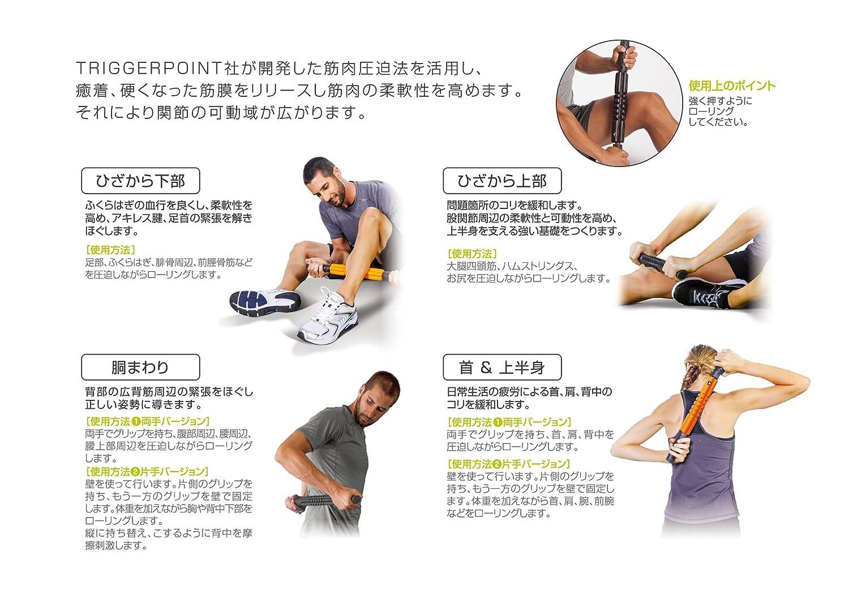 04415 トリガーポイント グリッド 筋膜リリース STK (TRIGGERPOINT) 【日本正規品 1年保証】 フォームローラー