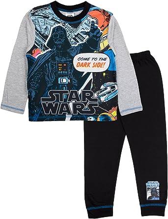 Disney – Disfraz Star Wars pijama Pjs Set Tamaño UK 4 – 10 años