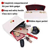 Women Quilted Crossbody Bag Girls Side Purse and