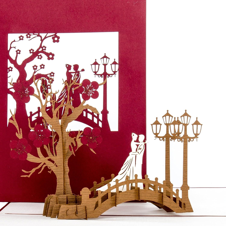 Hochzeitskarte 3D \