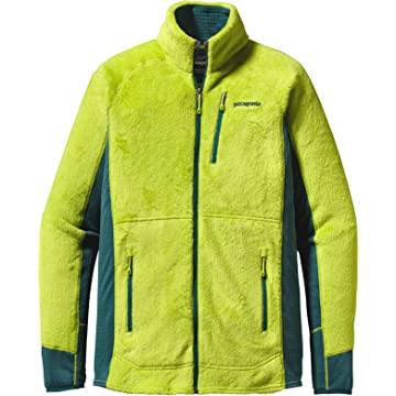 Patagonia R2 Fleece Jacket - Men's Peppergrass Green L