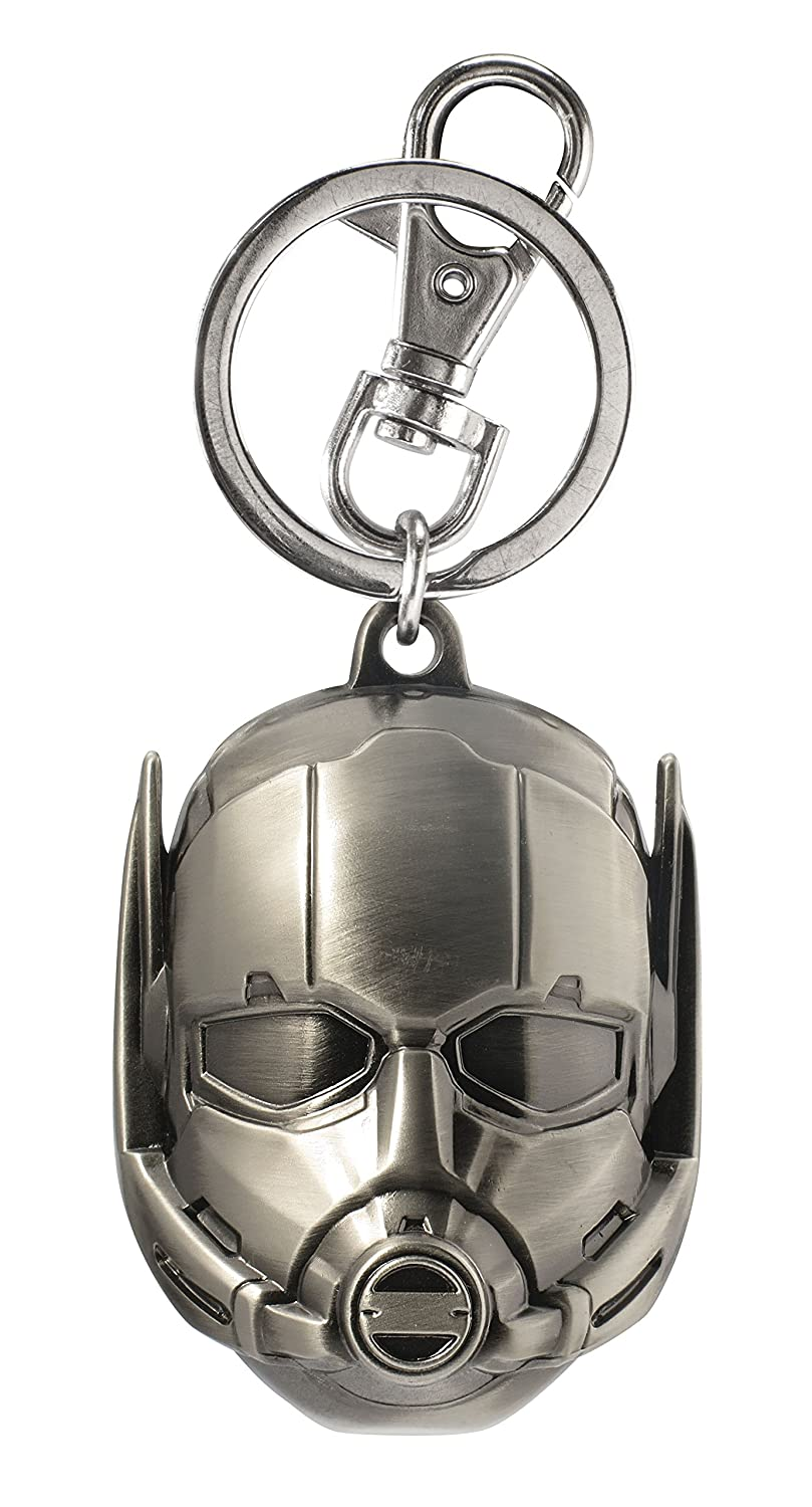 Marvel Ant Man Head Pewter Key Ring Action Figure