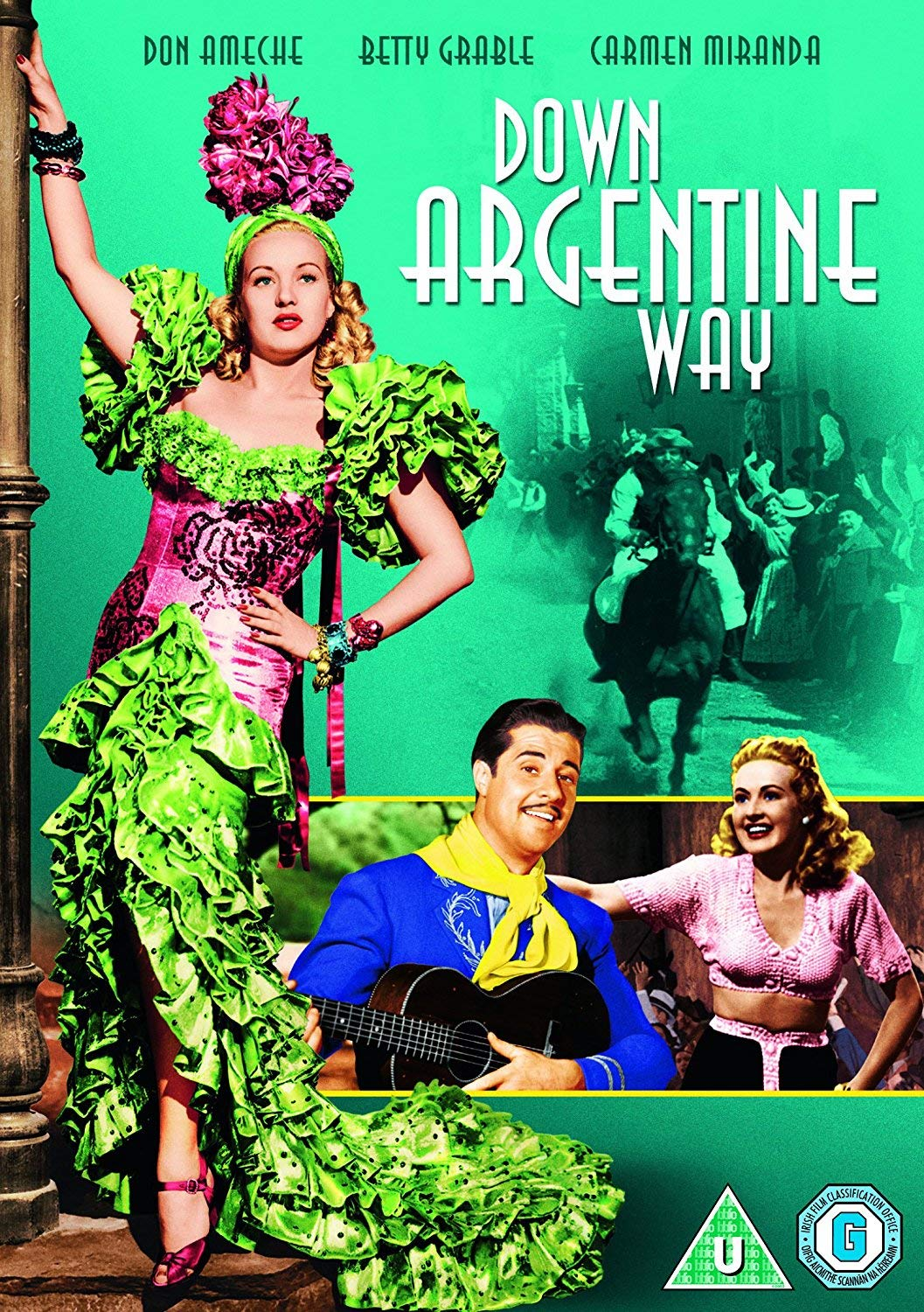Down Argentine Way Dvd 1940 Amazon Co Uk Betty Grable