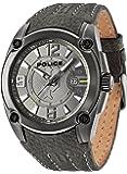 Police Herren-Armbanduhr XL ADVENTURE Analog Quarz Leder P13891JSU-61