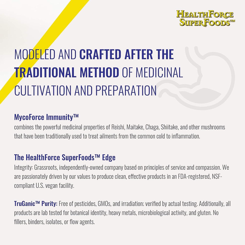 Amazon.com: Healthforce mycoimmune Fórmula Cápsulas de Vegan ...
