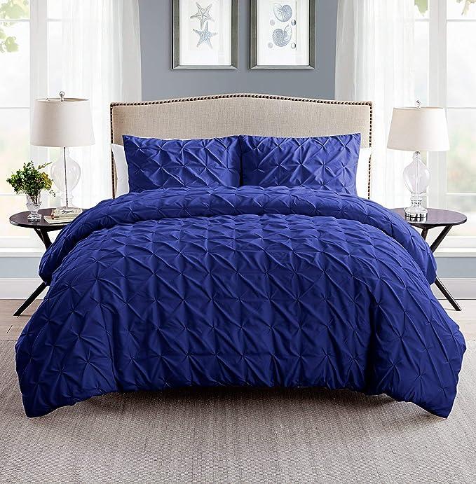 VCNY Home Madison poliéster 8 Piezas Microfibra Comforter Set, Super Suave Cama en una Bolsa, Resistente a Las Arrugas, hipoalergénico Juego de Cama, King, ...