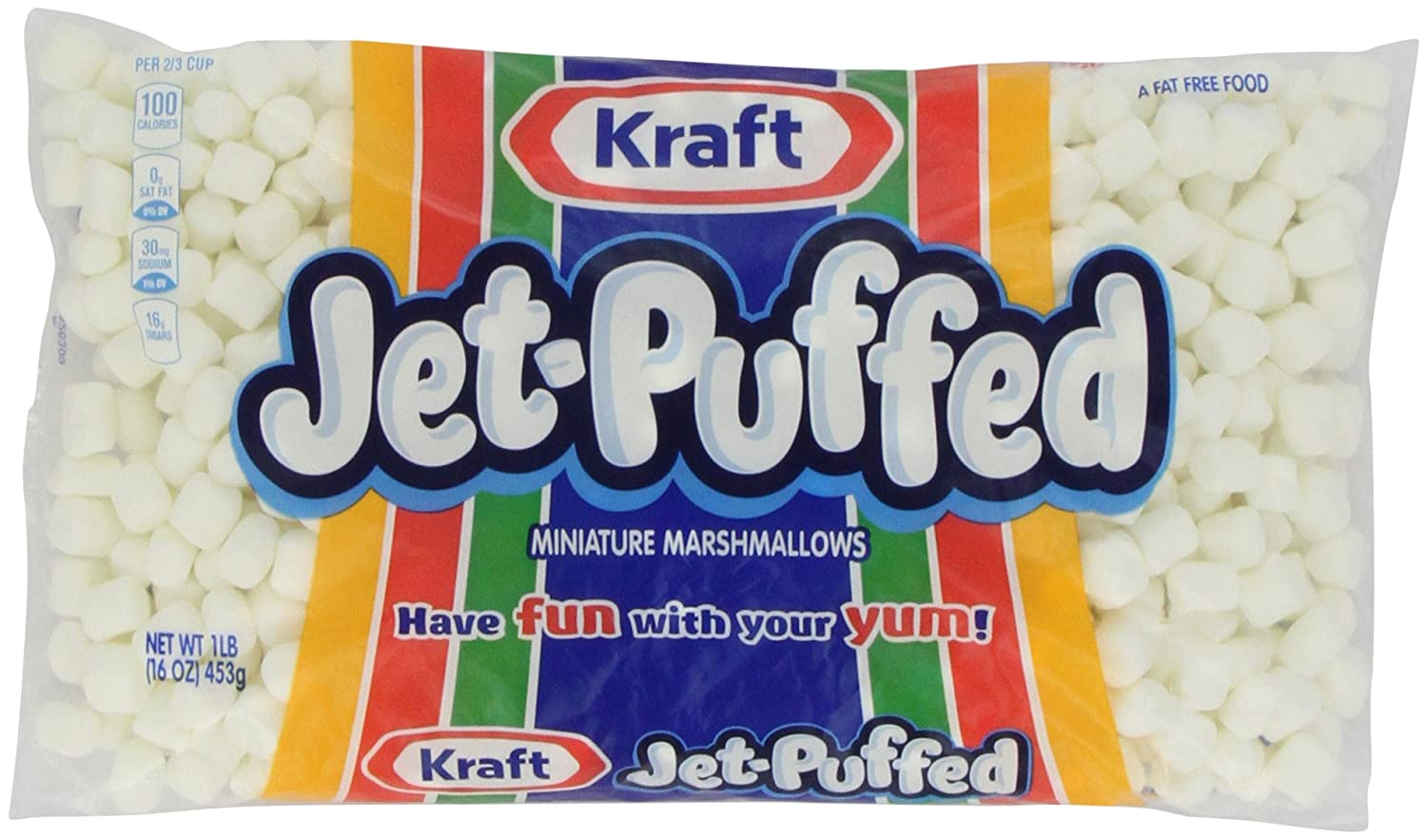 Jet Puffed Miniature Marshmallows, 16 oz