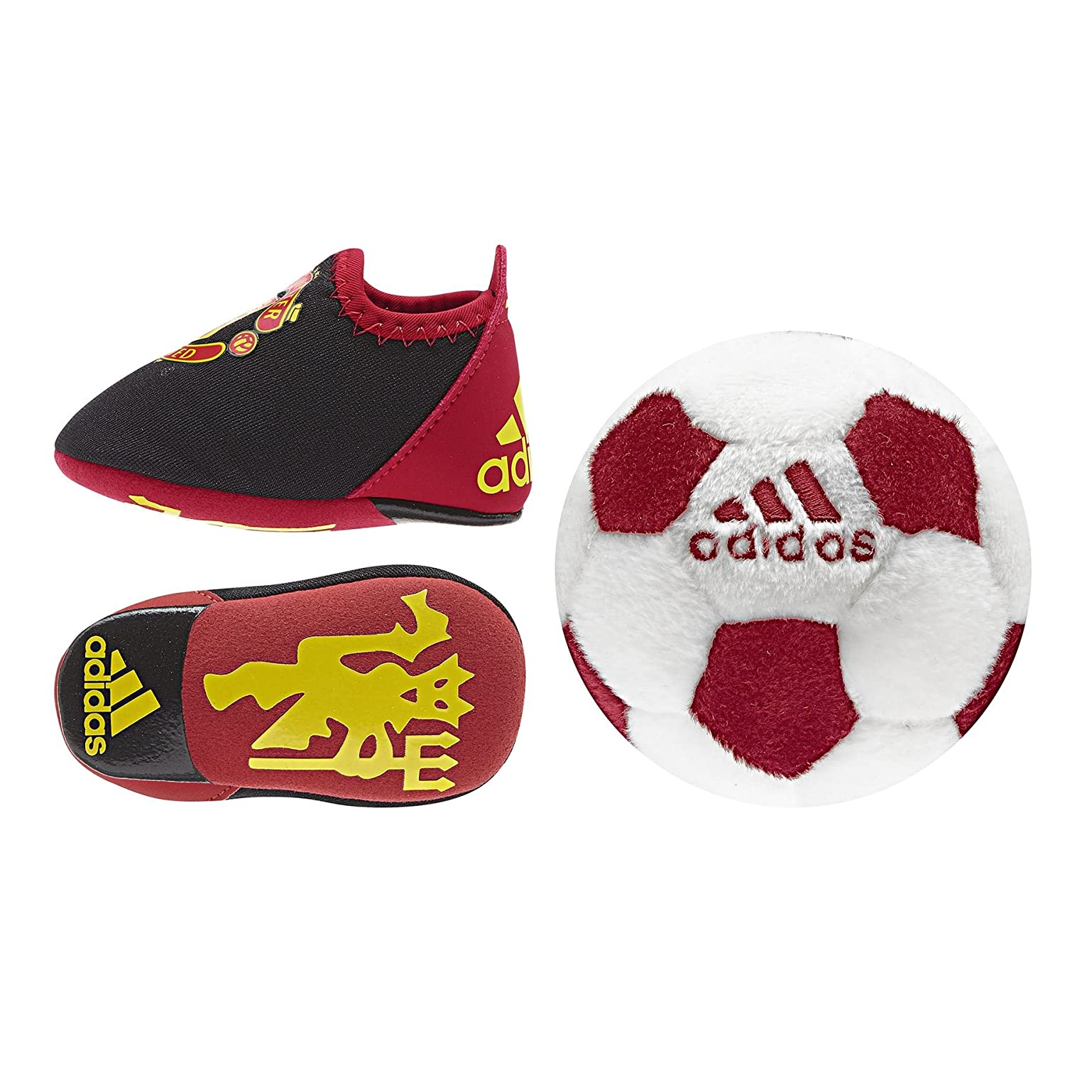 adidas Baby Manchester United Crib Pack Shoes Infants Club Crest
