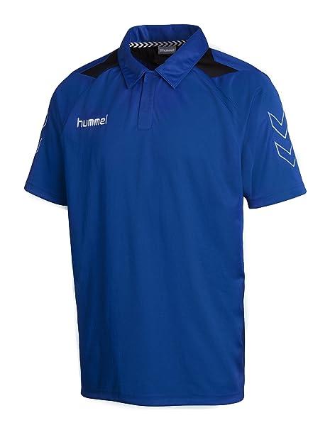 hummel - Camiseta de fútbol Sala, tamaño S, Color Azul: Amazon.es ...