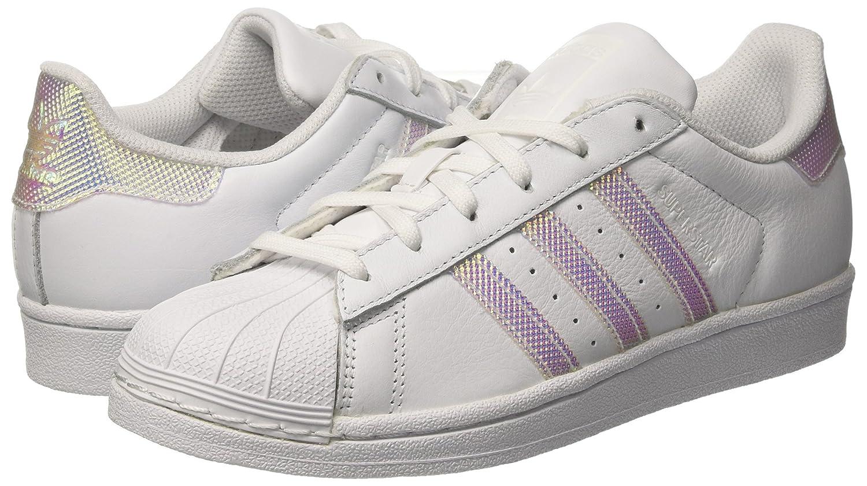 Amazon.com   adidas Women s Superstar W, White Silver, 5.5 US   Fashion  Sneakers 9b1e7b8fa3