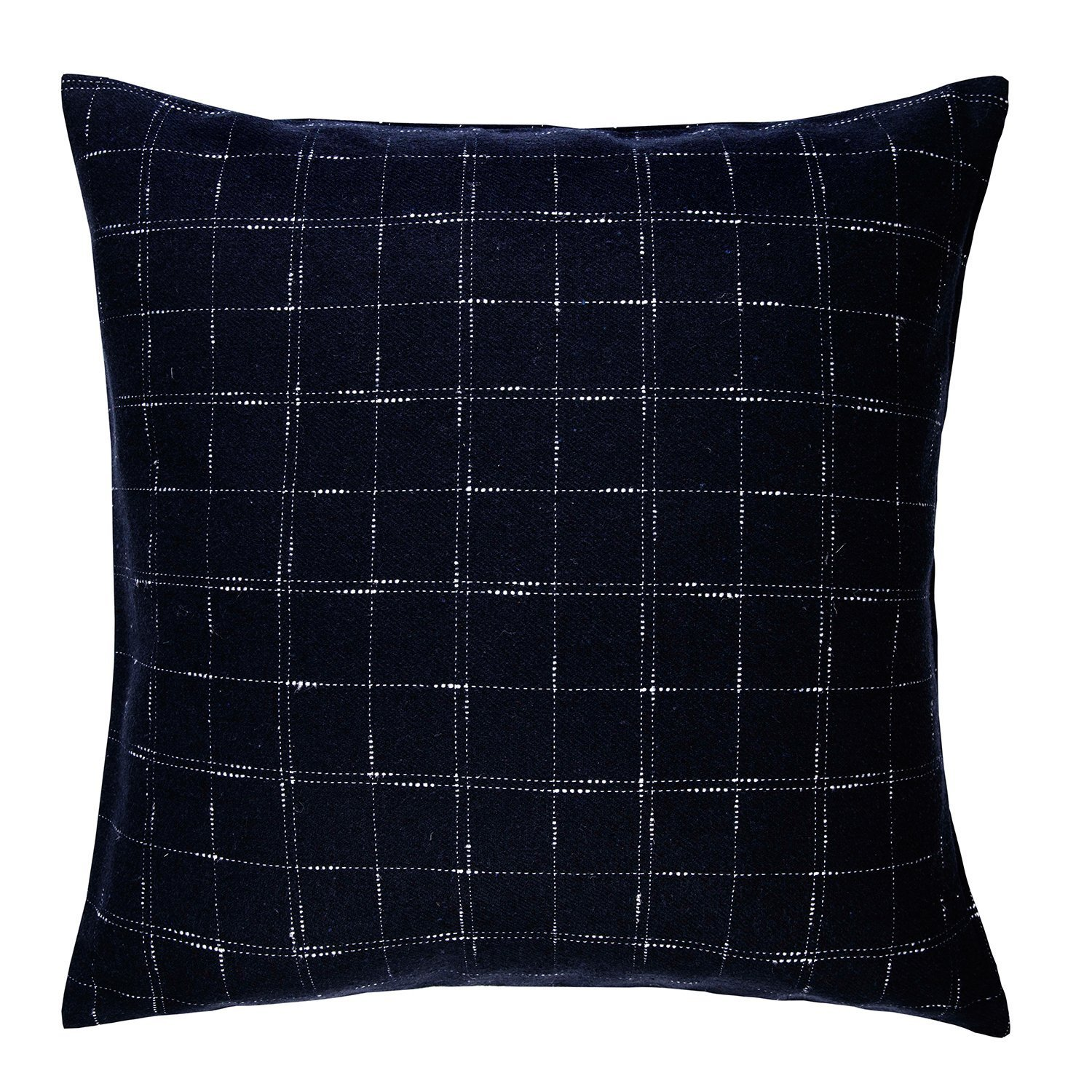 Dreamaker Wool Blended Checker Square Throw Pillow Decorative Cushion Cover 20