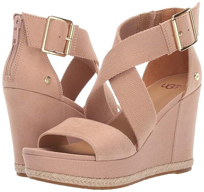 247a3f568f2 Amazon.com  UGG Women s Calla Wedge Sandal  Shoes