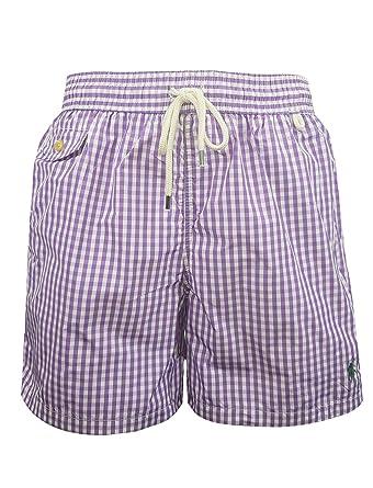 f8cc9dde2 Ralph Lauren Traveler Gingham Swim Shorts (XL