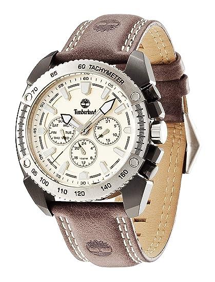Timberland bennington reloj para Hombre Analógico de Cuarzo con brazalete de Piel de vaca 13901JSBS-07: Amazon.es: Relojes