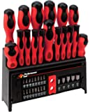 Performance Tool W1727 39-Piece Screwdriver Set with Rack