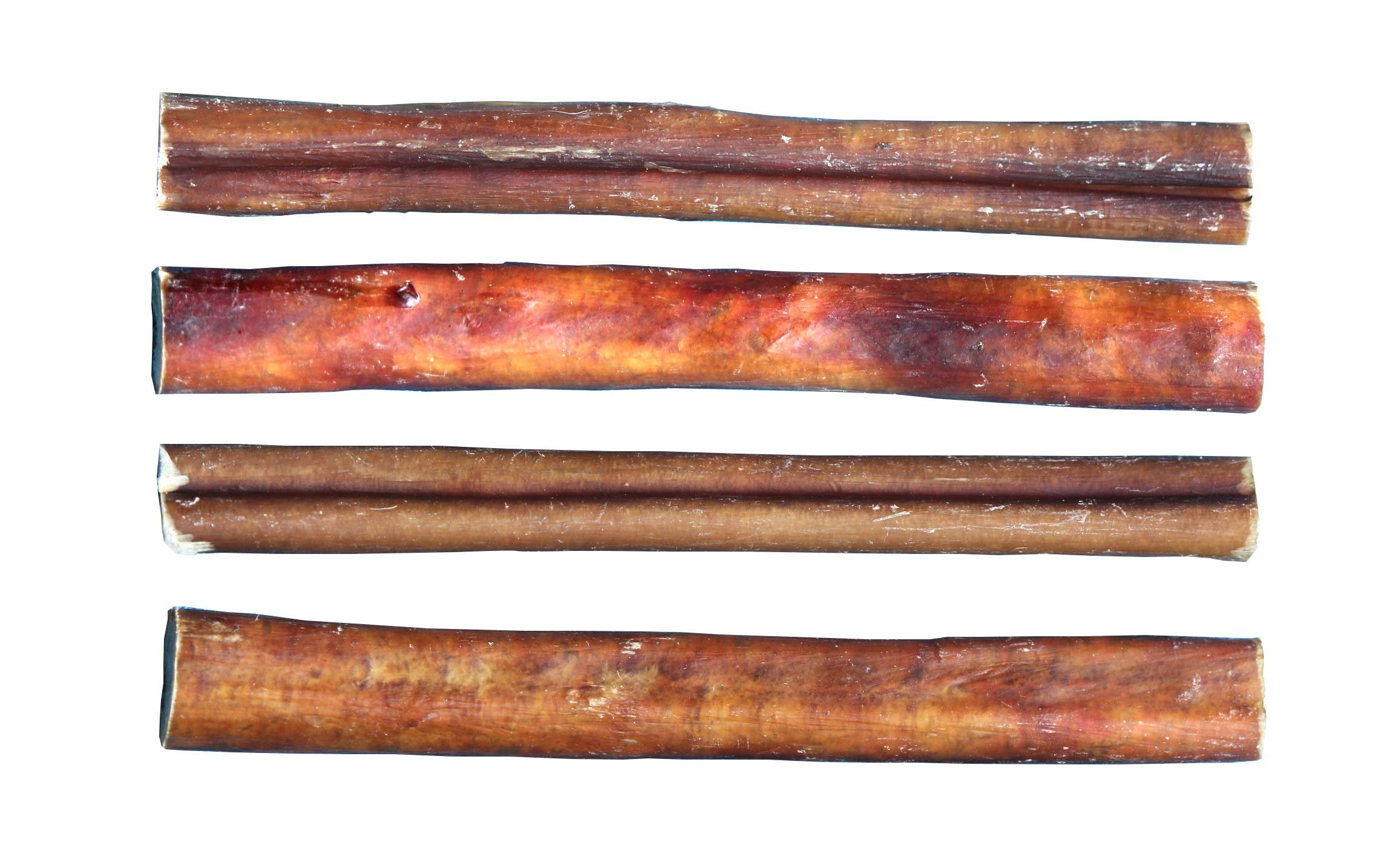 Downtown Pet Supply 6'' BULLY STICKS - Free Range Standard Regular Thick Select 6 inch (48 Pack) by Downtown Pet Supply (Image #4)