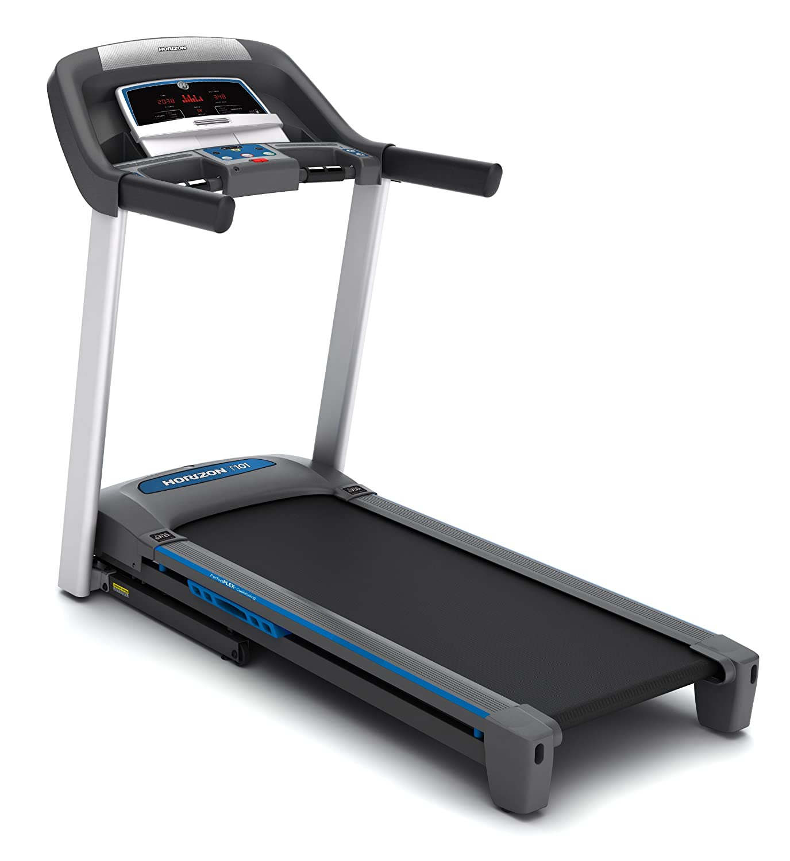 Amazon.com : Horizon Fitness T101-3 Treadmill : Exercise Treadmills ...