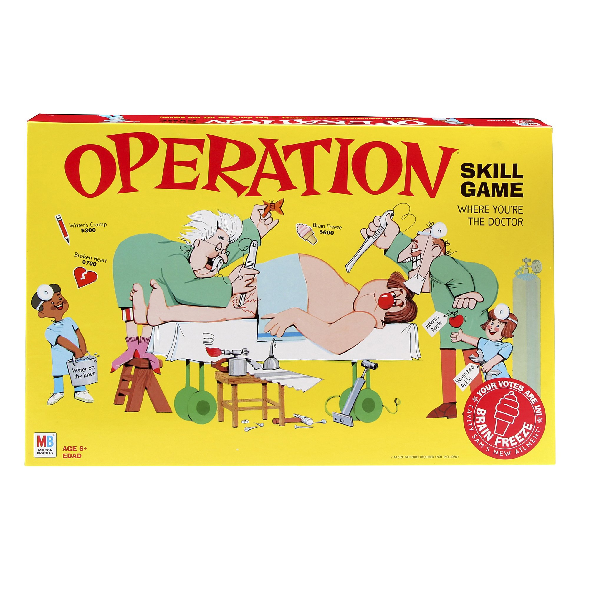 Classic Operation Skill Game (Amazon Exclusive)