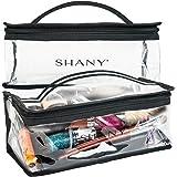 SHANY Clear Travel Makeup Bag - Cosmetics Organizer - Road Trip