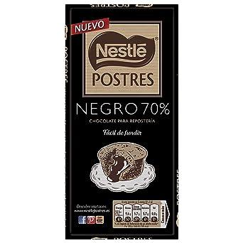 Nestlé POSTRES Chocolate negro para fundir 70% cacao - Tableta de chocolate para repostería 14x170g: Amazon.es: Alimentación y bebidas