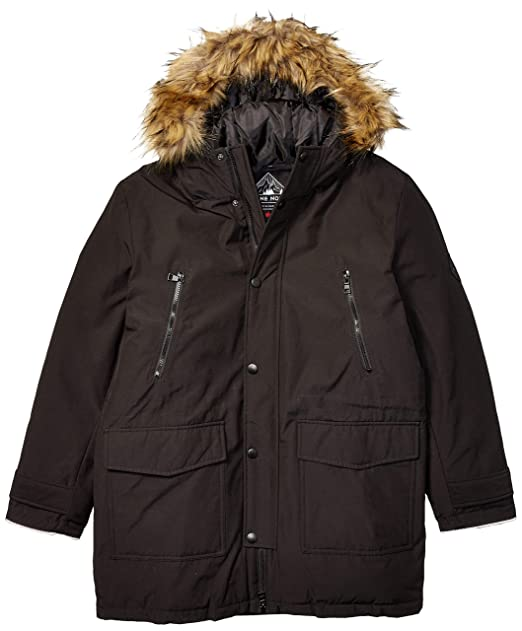 Amazon.com: Alpine North - Chaqueta de invierno con cordón ...