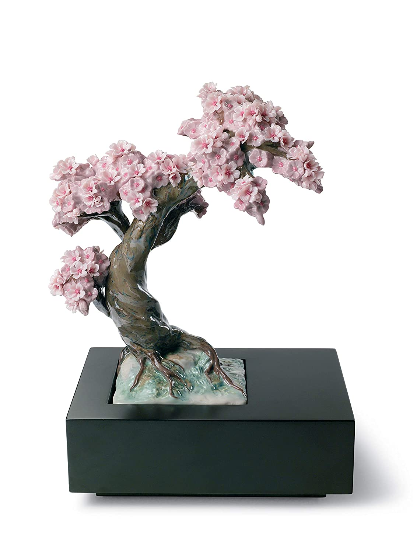 Figurina Albero di Porcellana. LLADR/Ó Figurina Stagione Fiorita Albero